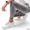 Кросівки жіночі Morus білі 4086, фото 10