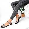 Босоножки женские Nessi никель 4015, фото 5