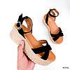Босоніжки жіночі Gerry черни 4036, фото 3