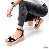 Босоніжки жіночі Gerry черни 4036, фото 6