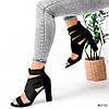Босоніжки жіночі Hanis чорні 4070, фото 6