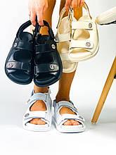 Женские сандалии босоножки на низком ходу