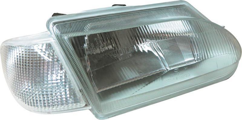 Фара ВАЗ 2113-15 права модернізування білий Покажчик, без лампочки (743.3711010-02 (Б/Н4)) ОСВАР
