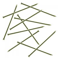 Цвяхи столярні оцинковані 1.2х20 мм, фасовані п/е 1 кг