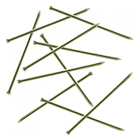 Цвяхи столярні оцинковані 2.2х50 мм, фасовані п/е 1 кг