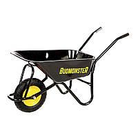 Тачка BudMonster будівельна 1-колісна (80 л, г / п 200 кг) (01-007)