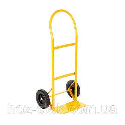 """Платформа ручна вантажна до 100 кг, 1000х456х362 мм, колесо 8х1,75 """" (HT2007)"""
