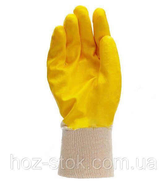 Рукавиці трикотажні з нітрилові покриттям, неповний обливши, розмір 10 (4523)