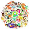 Наклейки, Стикеры, Sticker Bombing MIX Sloth 25шт