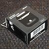 Чехол for AirPods 1/2 Silicone Case Slim COLOR BOX Black