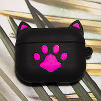 Чехол for AirPods Pro 3D CAT Black, фото 1