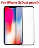 Защитное стекло 3D Iphone X