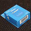 Чехол for AirPods 1/2 Silicone Case Slim COLOR BOX Blue