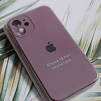 Чехол Silicone Case Full Protective для Apple iPhone 12mini Blackcurrant, фото 1