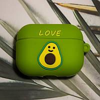 Чехол for AirPods Pro 3D Avocado Green, фото 1