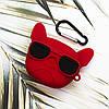 3D чехол для AirPods Pro Dog Red