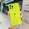 Чехол Бампер для Iphone 11 Pro Max Yellow Transparent