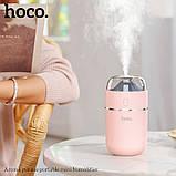 Увлажнитель воздуха Hoco Aroma pursue Розовый (gr_011851), фото 4