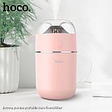 Увлажнитель воздуха Hoco Aroma pursue Розовый (gr_011851), фото 5