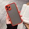 Чехол Funda Bumper Mat Case for iPhone 12 Pro Max Red