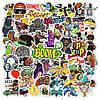 Наклейки, стикеры, Sticker Bombing Hip-Hop 25шт
