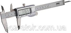 Штангенциркуль Miol з електронним відліком 150 мм металевий корпус, Premium (15-241)