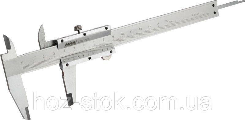 Штангенциркуль Miol механічний 150 мм (15-220)