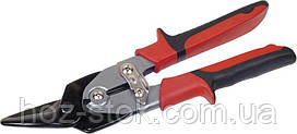 Ножиці по металу Miol (ліві) 250 мм, max 1,2 мм (48-000)