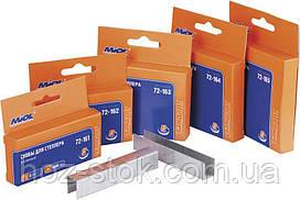 Скобі гартовані Miol для степлера 06х11,3х0,7 мм, 1000 шт (72-161)