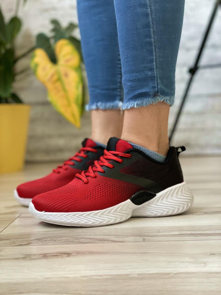 Кросівки жіночі 18791, Alfabounce, червоні/чорні [ 36 37 38 39 40 41 ] р.(36-24,0 см)