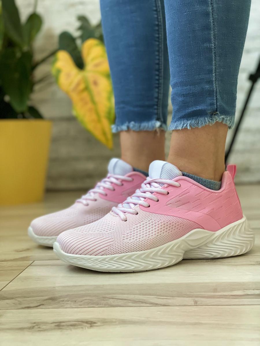 Кросівки жіночі 18792, Alfabounce, білі/рожеві [ 36 37 38 39 40 41 ] р.(36-24,0 см)