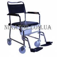 Кресло-каталка с санитарным оснащением JBS