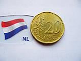 Монета 20 нидерландских евроцентов 2003 год, фото 2