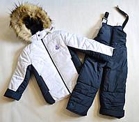 Детский зимний комбинезон на мальчика 3-6лет, зимние костюмы детские