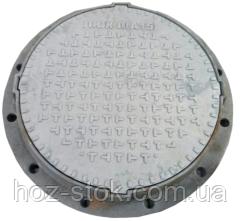 Люк каналізаційний Булат ЛКЛ48Л (А15) легкий 760х70 мм