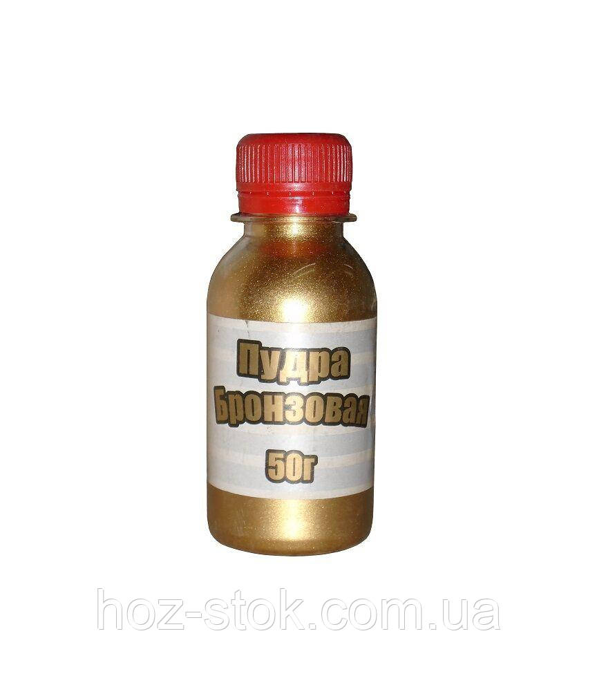 Бронзова Пудра Ремпласт в 50 г, пляшка