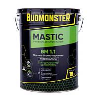 Мастика бітумно-каучукова універсальна BudMonster, 18 кг