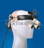 Лупа налобная хирургическая LNH с увеличением 2,5Х