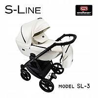 Дитяча універсальна коляска Adbor S-LINE 03. З Еко Шкіри! Новинка 2021 року