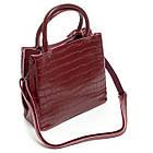 Стильна сумка жіноча шкіряна ALEX RAI різні кольори, фото 9