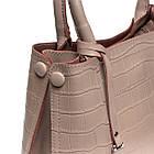 Стильна сумка жіноча шкіряна ALEX RAI різні кольори, фото 6