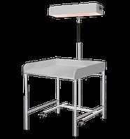 Облучатель для верхнего обогрева младенца с пеленальным столиком ЛВО-02 (Лучистое тепло)