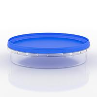 Судок пластиковый пищевой круглый, 500 мл