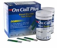 Тест-полоски On-Call Plus (Он-Колл), 50 шт