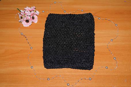 ТОП-сетка для плаття туту, цвет  чорный, фото 2