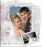 """Свадебная классическая фотокнига """"Роза"""" образец для фоторафов"""