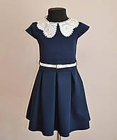 Детское школьное платье на девочку от 5 до 9 лет,школьный сарафан для девочки
