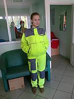 Демисезонный рабочий костюм. Спецодежда