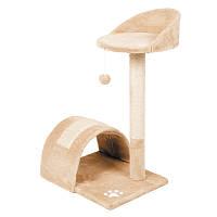 Когтеточка,дряпка ДО5 з аркою для кота 79 см (бежева)