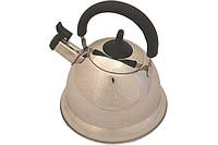 """Чайник для кипячения воды со свистком 3 л. из нержавеющей стали """"Arman"""" серый"""